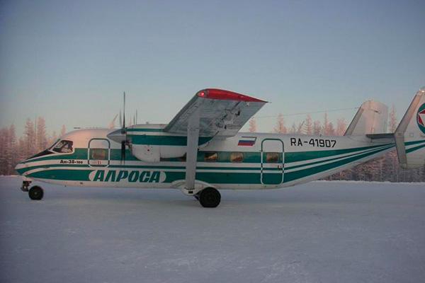 Фото Ан-38-100 авиакомпании 'Алроса'