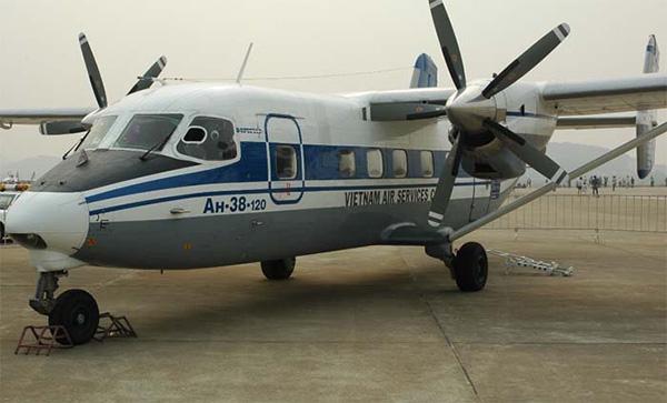 Ан-38-120 вьетнамской авиакомпании