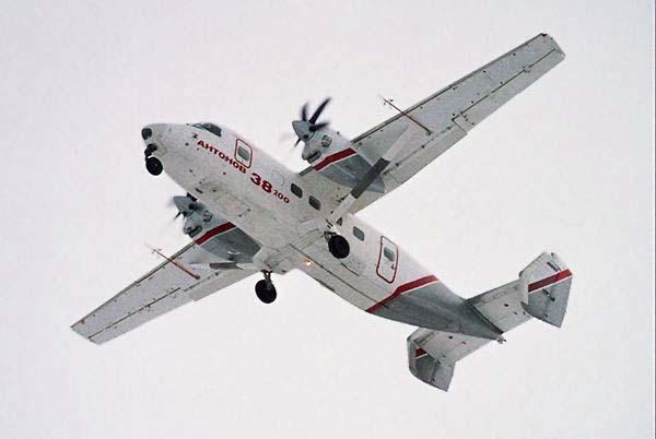 Самолет Ан-38-200