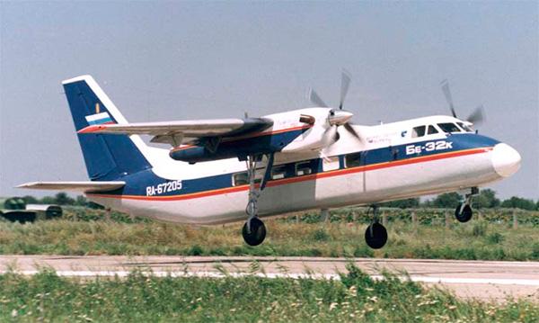Взлет Бе-32К