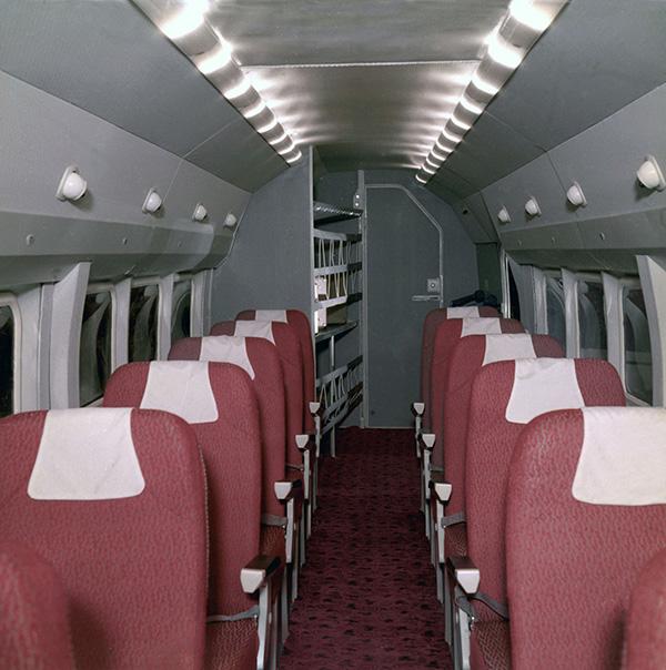 Пассажирский салон Бе-32К