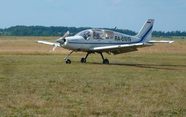 Ил-103 на грунте