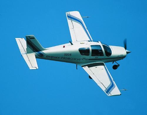 Ил-103 в небе
