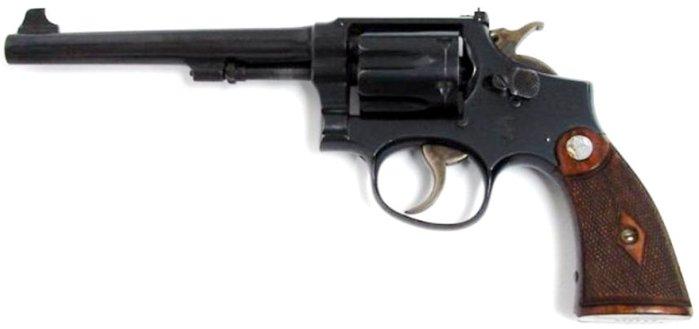 Револьвер Смит-Вессон Милитари энд Полис – модель для спортивной стрельбы