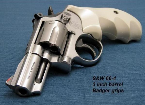 Револьвер Смит-Вессон М.66 – современный спортивно-целевой Милитари энд Полис с улучшенным дизайном
