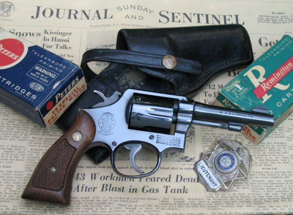 Револьвер Смит-Вессон Модель 10 Милитари энд Полис