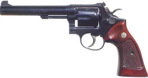 Револьвер Смит-Вессон K-38 «Мастерпис» модель 14 - целевой револьвер со стволом 6 дюймов