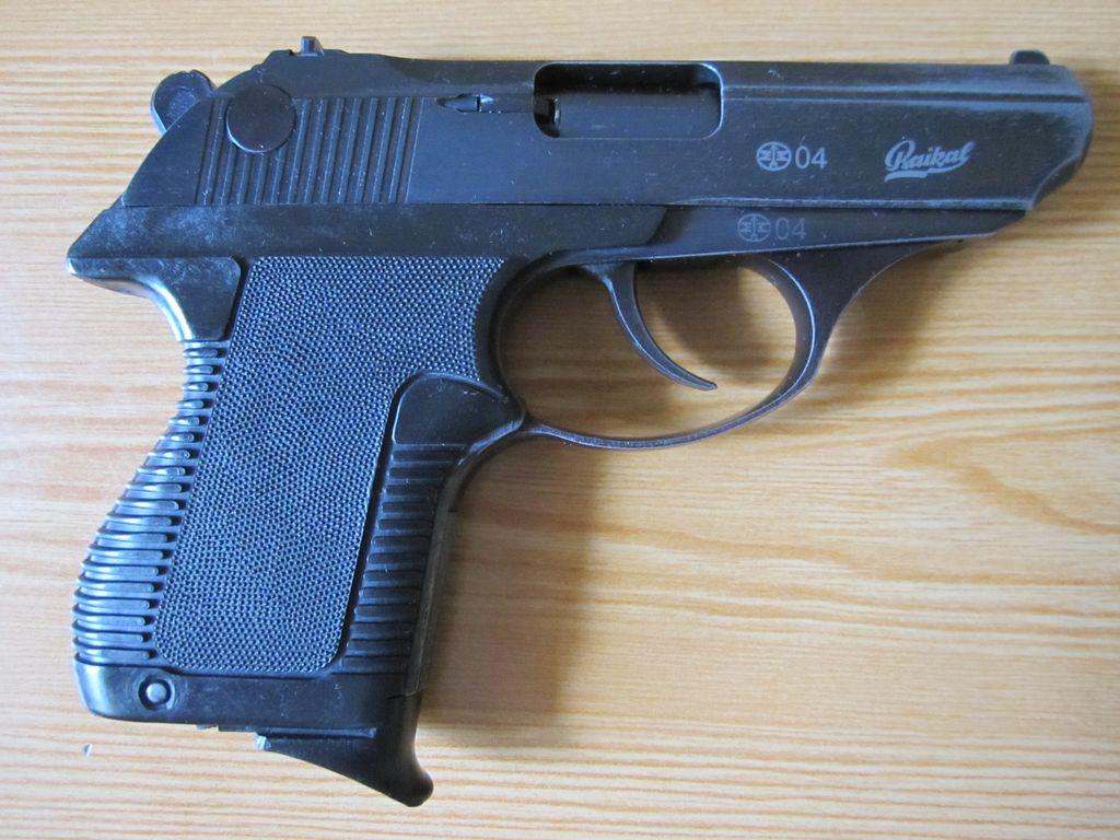 ИЖ-78-9Т 'Кольчуга' - газовый травматический пистолет