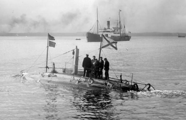Подводная лодка «Дельфин» до модернизации