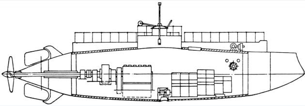 «Дельфин» - первая российская подводная лодка
