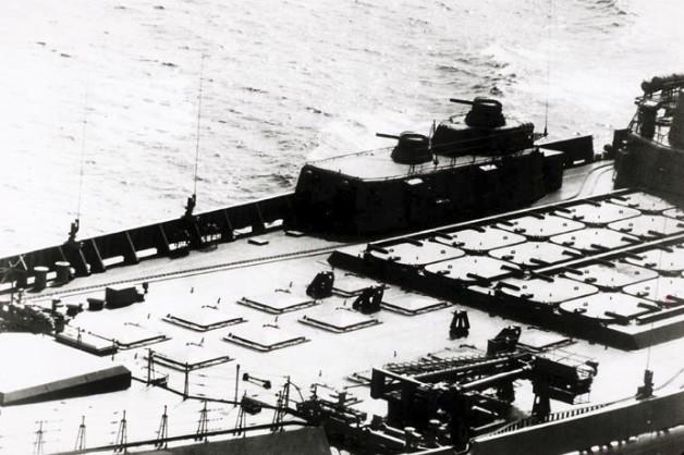 Пусковые установки СМ-233 на ракетном крейсере 'Киров' пр.1144