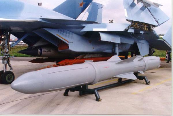 П-800 'Оникс' и 'Яхонт' - противокорабельные ракеты среднего радиуса действия