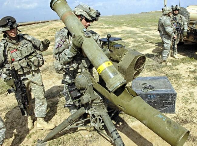 ПТРК BGM-71 ТOW-2 - американский тяжелый противотанковый ракетный комплекс
