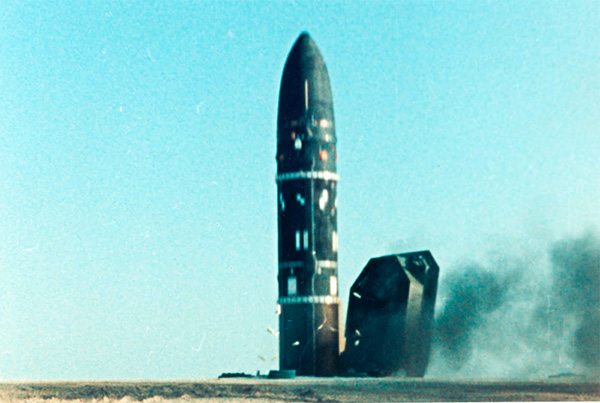 Р-36М2 'Воевода' (15А18М) - баллистическая ракета