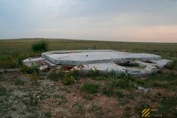 Стартовая позиция МБР Р-36М2 (15А18М) 'Воевода'