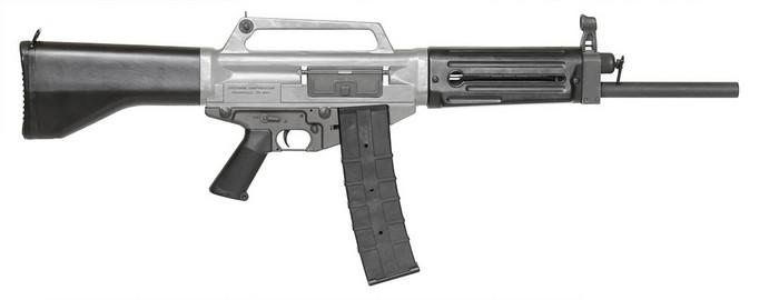 USAS-12 с коробчатым магазином на 10 патронов