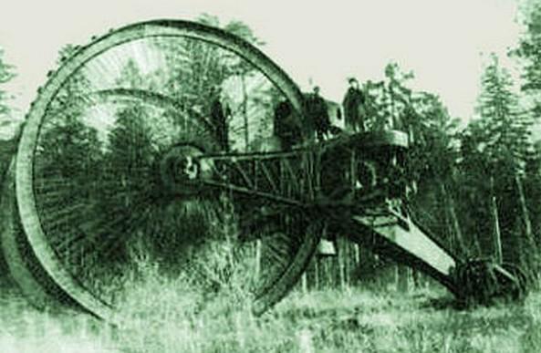 Колесная боевая машина капитана Лебеденко (1915 г.)