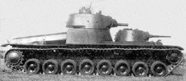 Т-100 - экспериментальный тяжелый танк