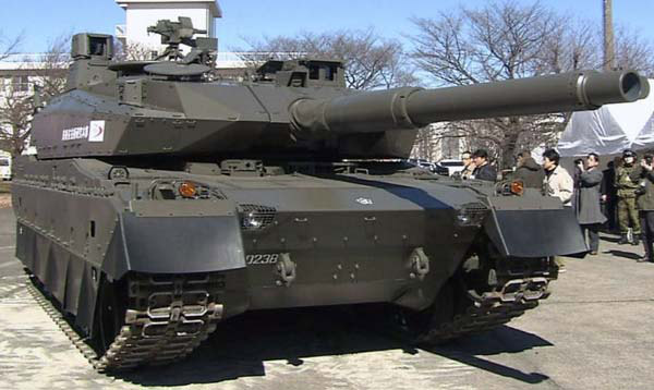 Японский танк Тип 10