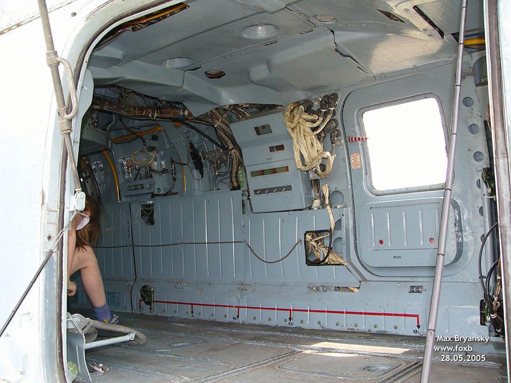 Грузовая кабина Ка-29