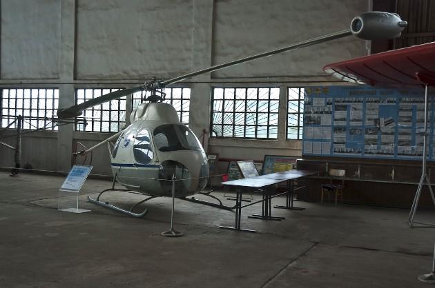 Вертолет В-7 - фото из музея Военно-воздушных сил России в Монино