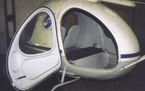 Салон вертолета В-7