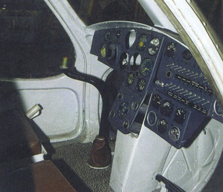 Приборная панель вертолета В-7
