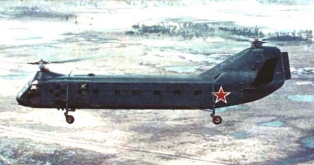 Фото Як-24 в полете