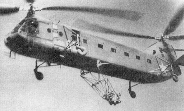Съемка круговой кинопанорамы с Як-24