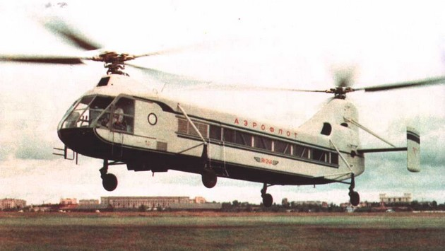 Взлет Як-24А