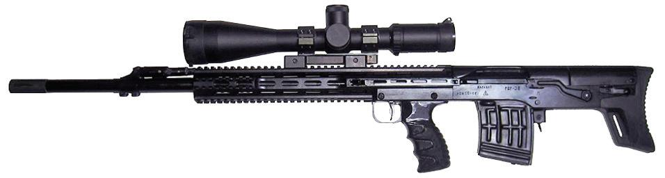 ВС-121 - снайперская винтовка 7,62 мм
