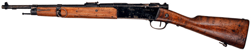 Карабин Лебеля Mle 1886 M.93 R.35, вид слева