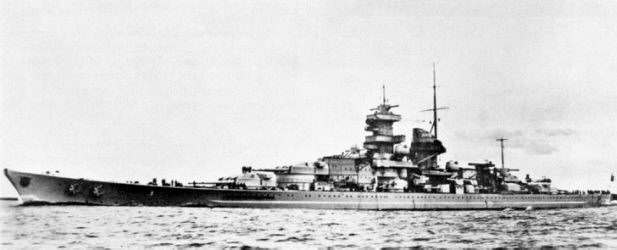 'Гнейзенау' - германский линкор типа 'Шарнхорст'