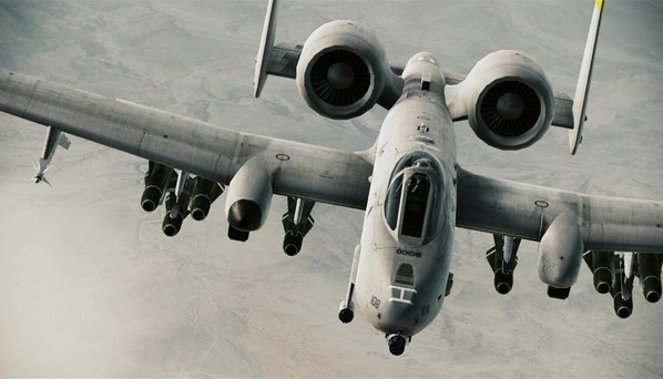 A-10A «Тандерболт» II - американский штурмовик