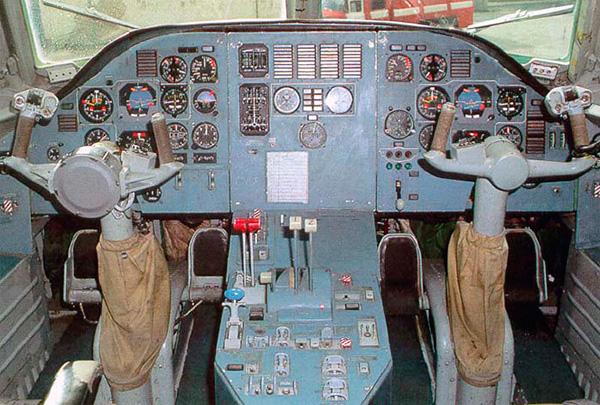 Кабина самолета А-40 'Альбатрос'