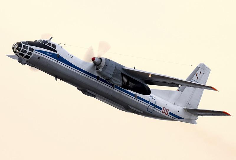 Ан-30 - самолет аэрофотосъемки