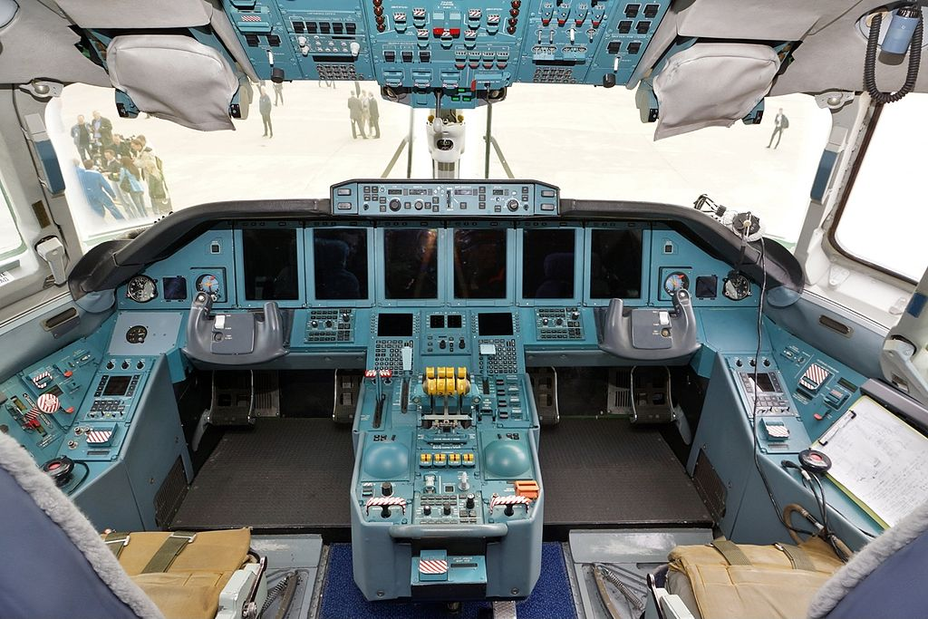 Кабина Ан-70