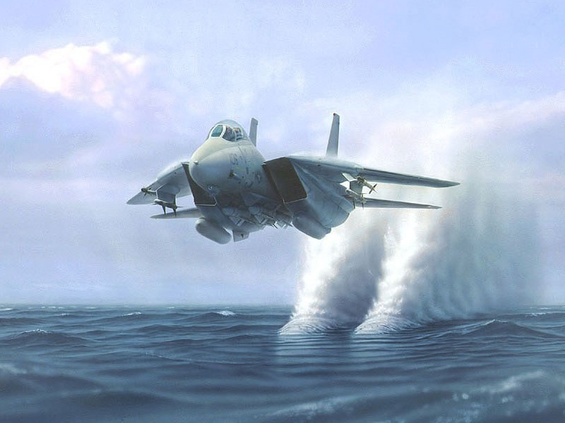 F-14 «Томкэт» - истребитель-перехватчик