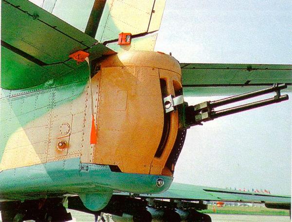 Пушечная установка ГШ-23 самолета Ил-102
