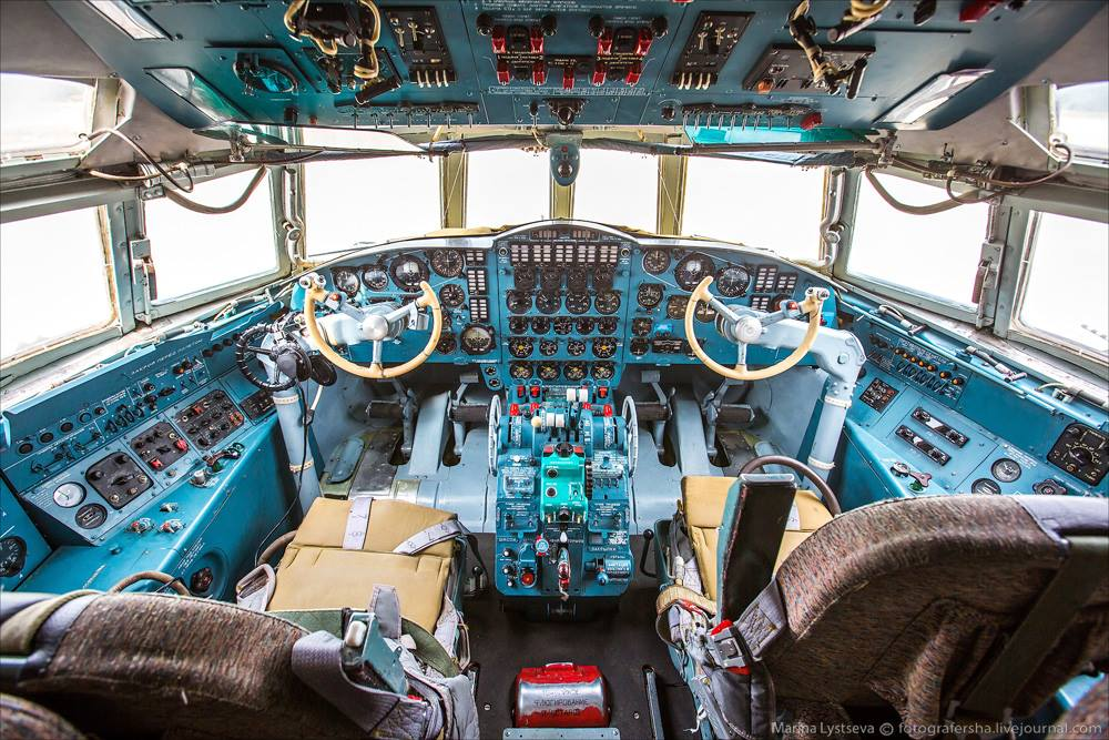 Кабина Ил-38Н