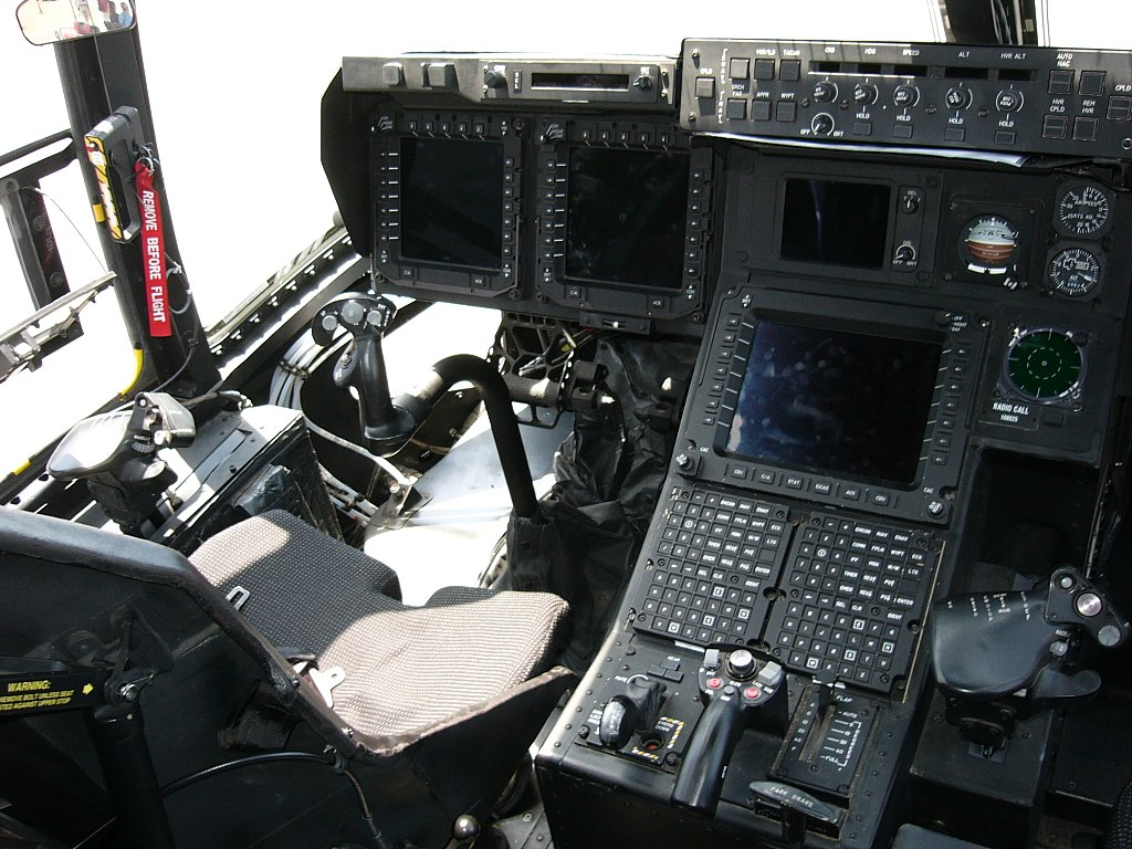Кабина экипажа MV-22 Osprey
