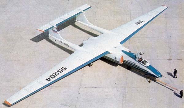 М-55 'Геофизика' - советский высотный самолет-разведчик