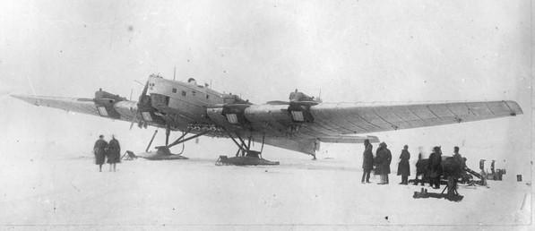 ТБ-3 (АНТ-6) - тяжелый бомбардировщик