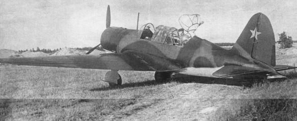 АНТ-51 (Су-2) - ближний бомбардировщик