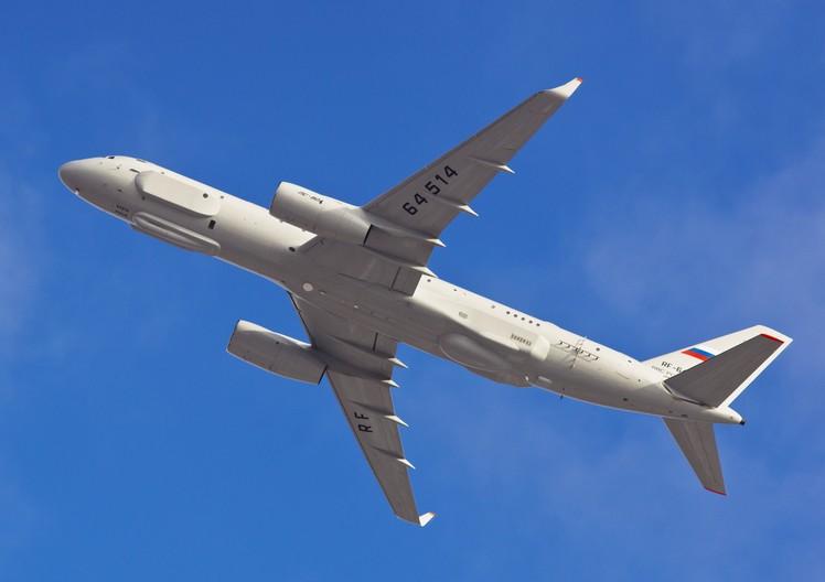Ту-214Р самолет радиотехнической и оптико-электронной разведки