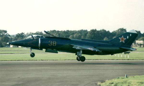 Горизонтальный взлет Як-38