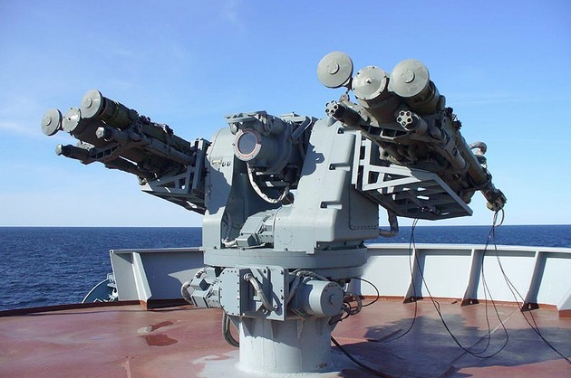 Турельная установка «Гибка-Р» на БПК «Вице-адмирал Кулаков»