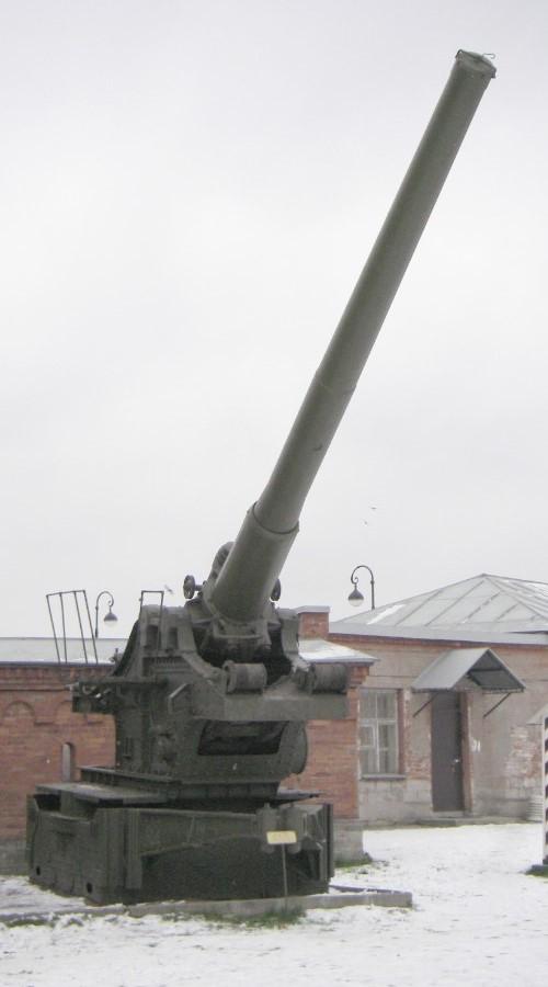 БР-17 - пушка особой мощности 210-мм образца 1939 года