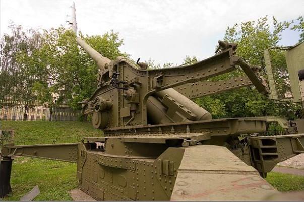 БР-17 - пушка 210-мм образца 1939 года