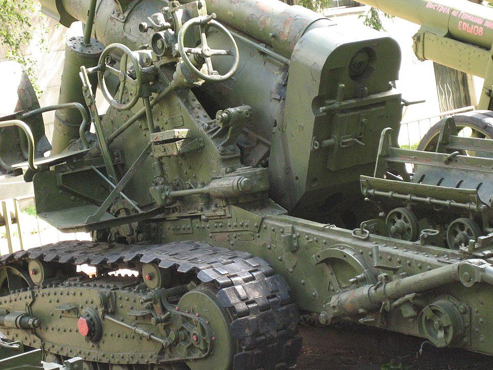 Казённая часть и органы наведения Бр-2, Центральный музей Вооружённых Сил, Москва